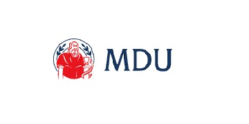 Logo for MDU